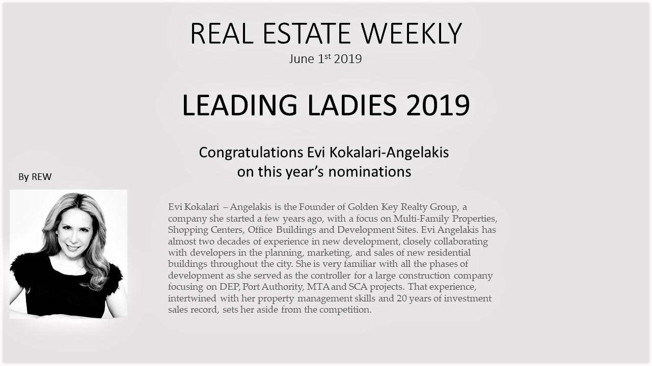 Meet REW's 2019 Leading Ladies