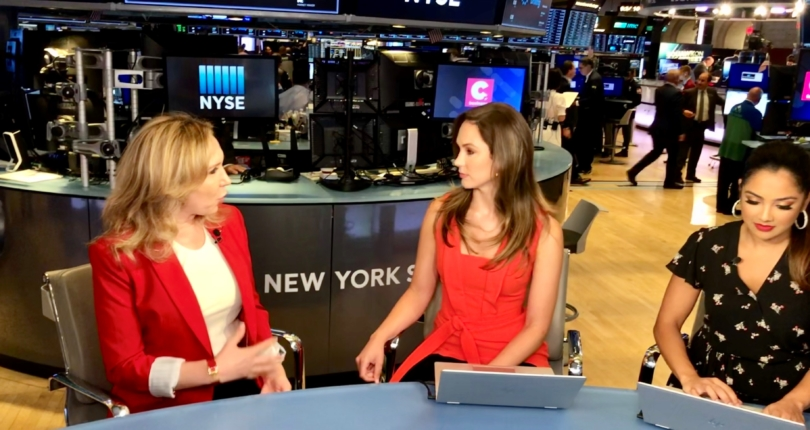 Evi Kokalari-Angelakis joins 'Your Cheddar' from NYSE's floor