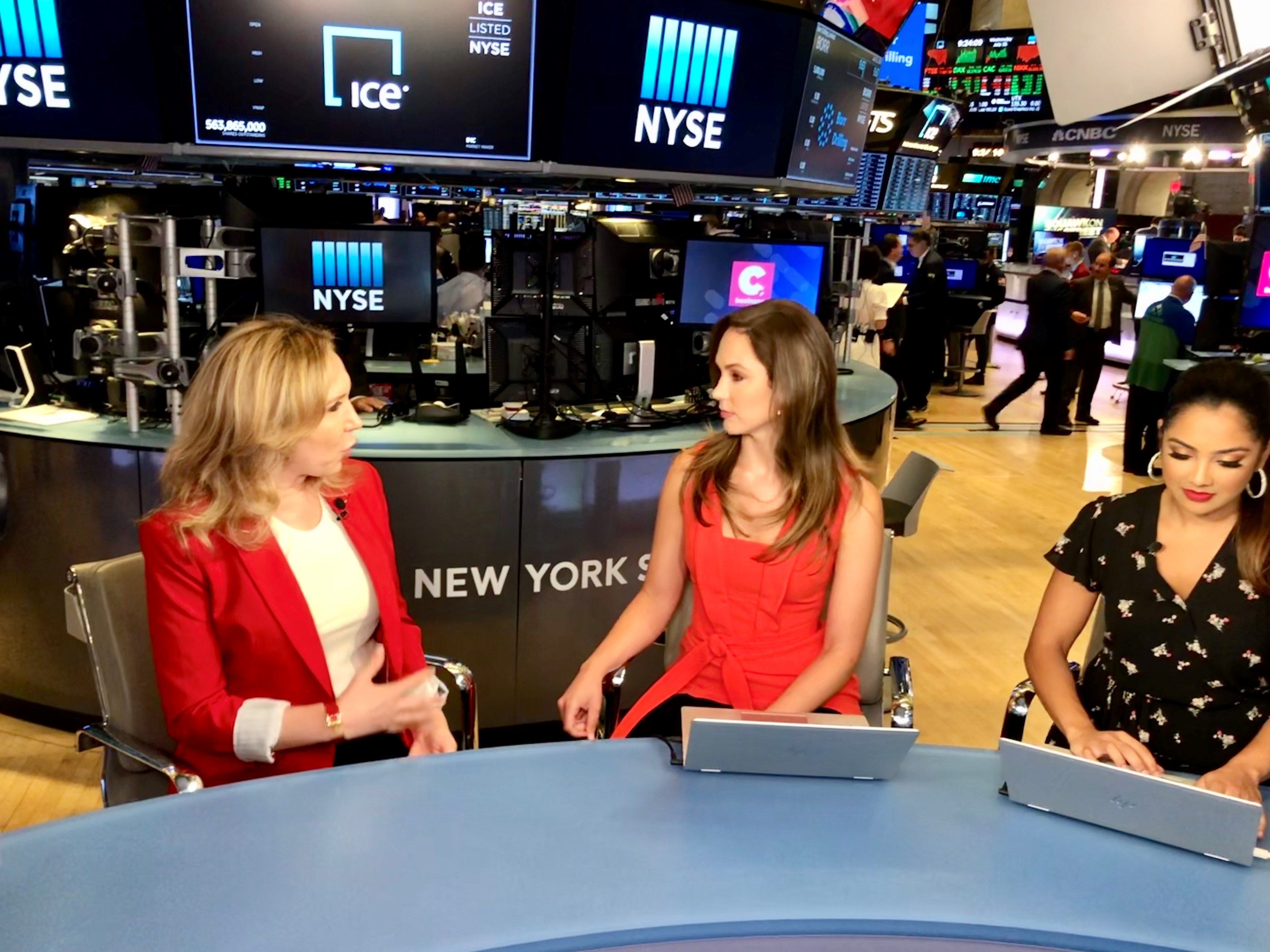 Evi Kokalari-Angelakis joins 'Your Cheddar' from NYSE's floor
