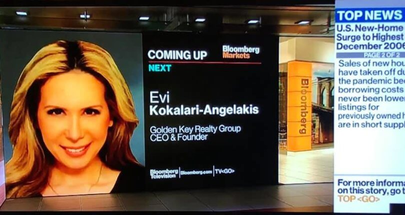 Real Estate CEO Evi Kokalari-Angelakis of Golden Key Realty Group says industry is at a Crossroad